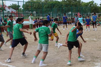 Inter House Sports Activity – Kabaddi