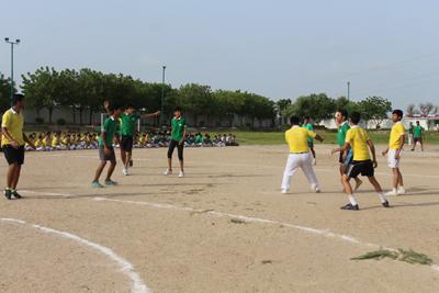 Inter House Sports Activity – Handball