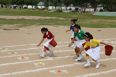 Inter House Sports Activity – Fun Race
