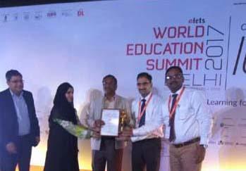World Education Award – 2017 on Friday 11-Aug-2017