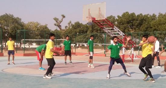 Inter  House  Basketball  Match