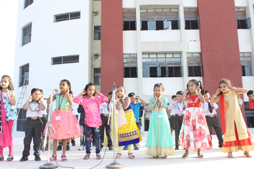 Skit Activity  By Class I-B –  Primary  Wing on  03-Nov-2017