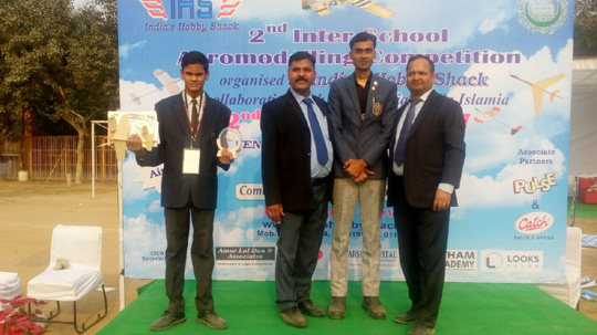 2 nd INTER SCHOOL AEROMODELLING COMPETITION, DELHI