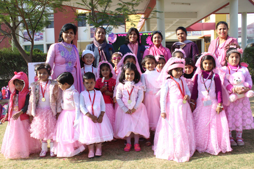Kidz Wing – Pink and Purple Colour Day   Celebration