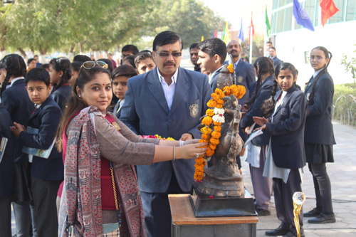Activity on Vasant  Panchmi – 2018